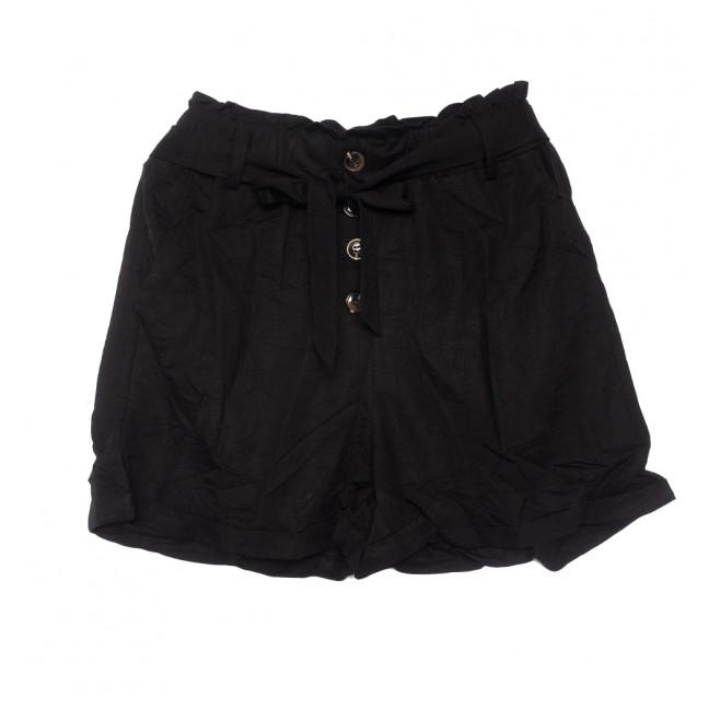 2350 черные Saint Wish шорты женские коттоновые (S-2XL, 5 ед.) Saint Wish: артикул 1108150