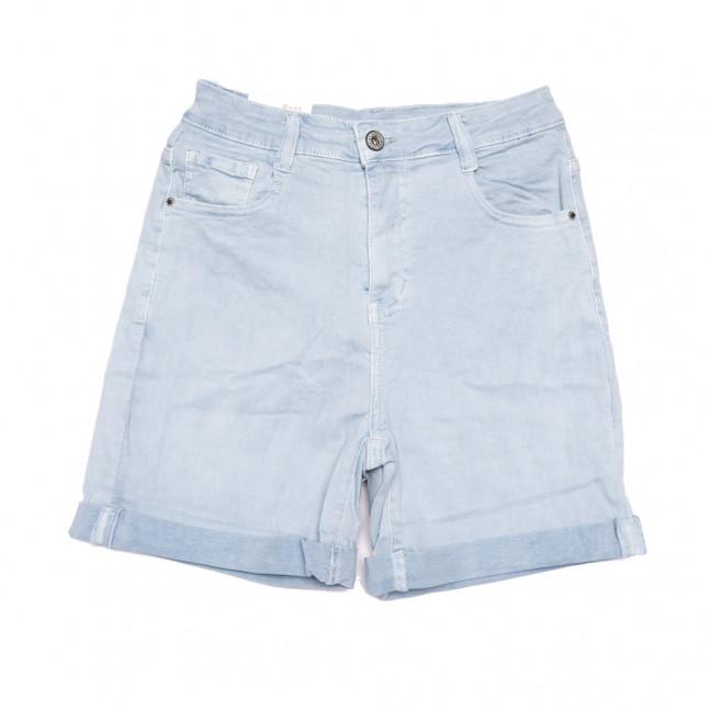 9058-5 голубые Saint Wish шорты джинсовые женские стрейчевые (XS-XL, 5 ед.) Saint Wish: артикул 1108092