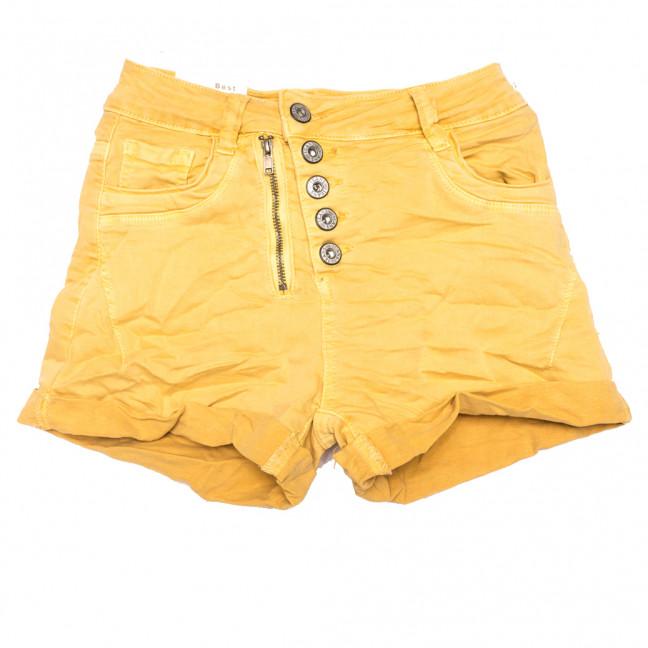 9156-6 желтые Saint Wish шорты джинсовые женские коттоновые (25-30, 6 ед.) Saint Wish: артикул 1108169