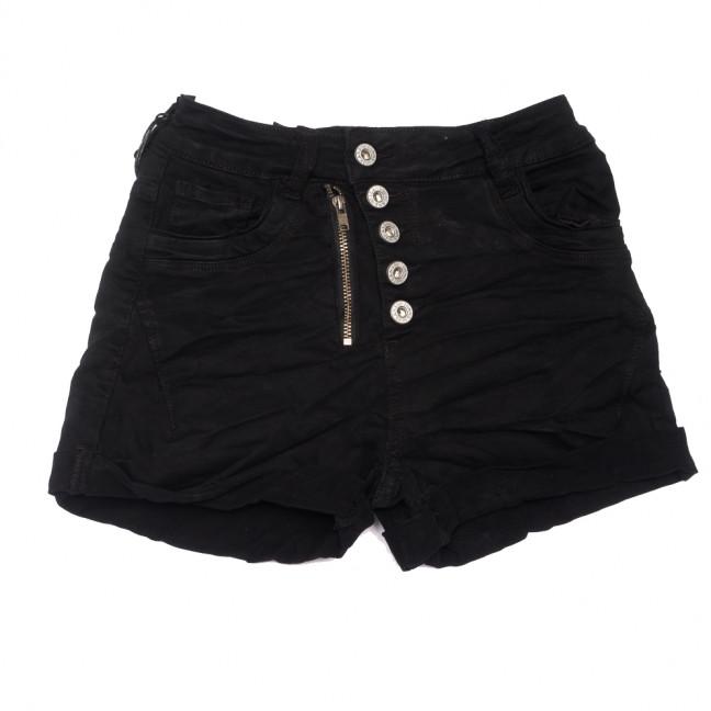 9156-1 черные Saint Wish шорты джинсовые женские коттоновые (25-30, 6 ед.) Saint Wish: артикул 1108168