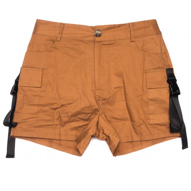 8379 коричневые Saint Wish шорты женские стрейчевые (S-2XL, 5 ед.) Saint Wish: артикул 1108176