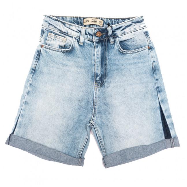 1043-7 Real Focus шорты джинсовые женские синие коттоновые (25-30, 6 ед.) Real Focus: артикул 1108277