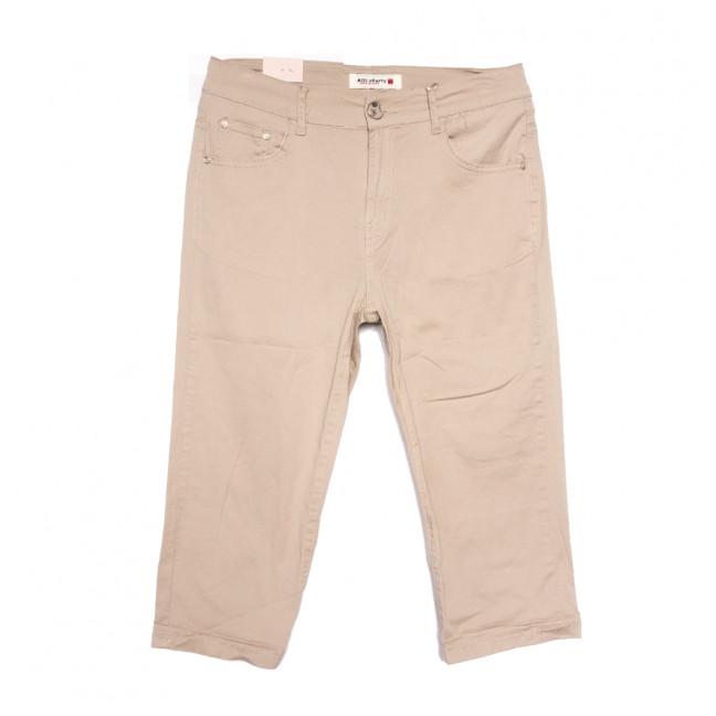 2771 Miss Cherry шорты джинсовые женские батальные бежевые стрейчевые (31-38, 6 ед.) Sunbird: артикул 1107939