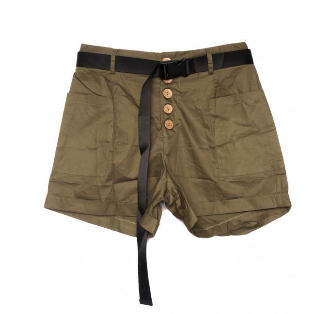 8380 хаки Saint Wish шорты джинсовые женские коттоновые (S-2XL, 5 ед.) Saint Wish: артикул 1108163