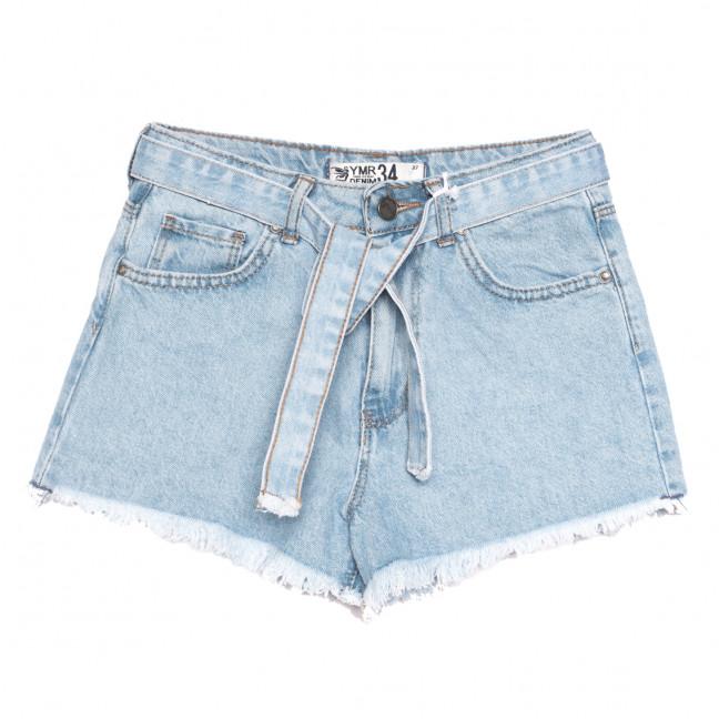 3354 YMR шорты джинсовые женские синие коттоновые (34-42,евро, 7 ед.) YMR: артикул 1108291
