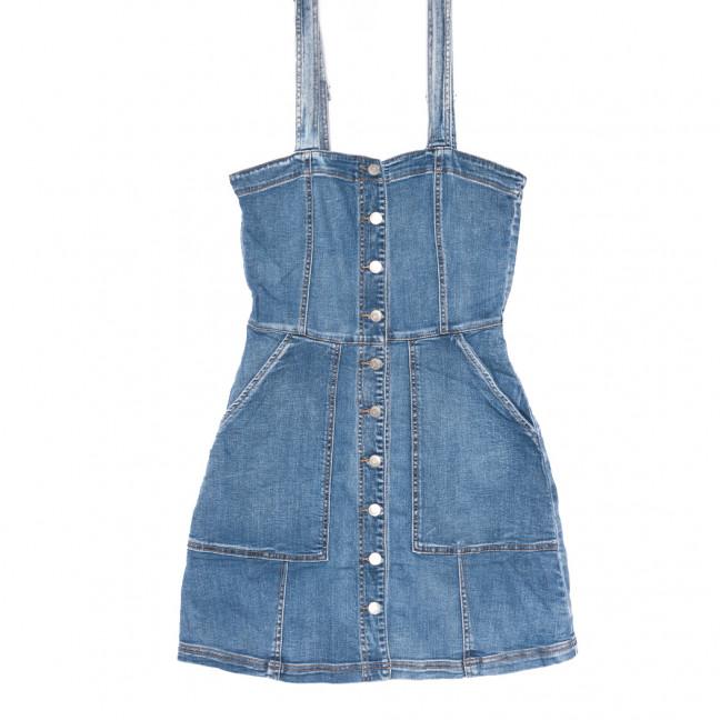 9127 Saint Wish сарафан джинсовый синий летний стрейчевый (ХS-XL, 5 ед.) Saint Wish: артикул 1108206