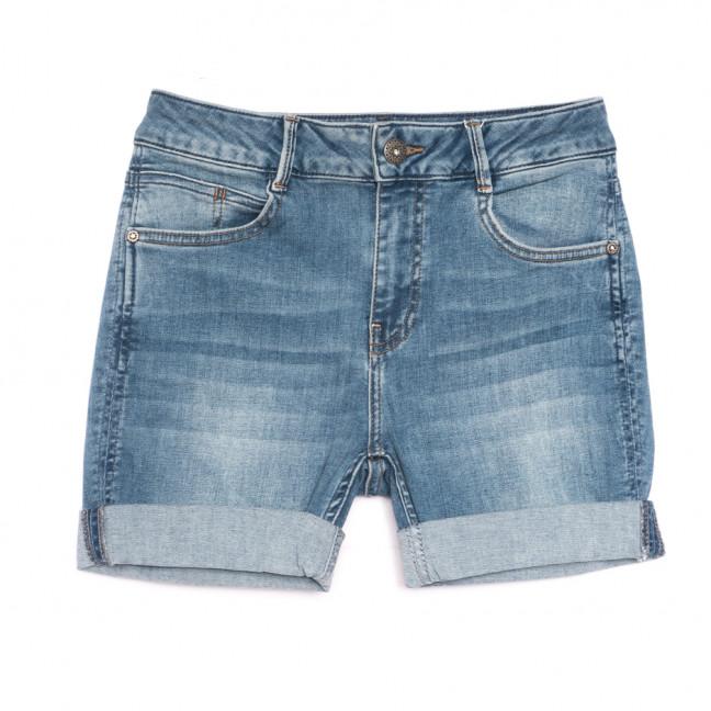 0902 Gecce шорты джинсовые женские синие стрейчевые (36-42, 5 ед.) Gecce: артикул 1108274