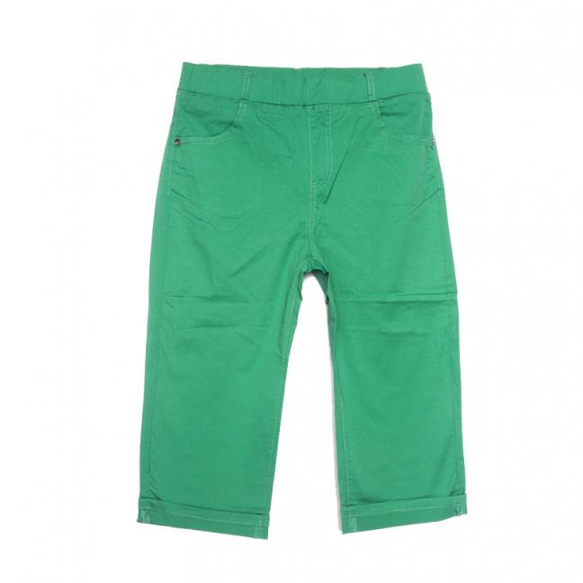 9520 зеленые Sunbird шорты джинсовые женские батальные стрейчевые (30-36, 6 ед.) Sunbird: артикул 1107961