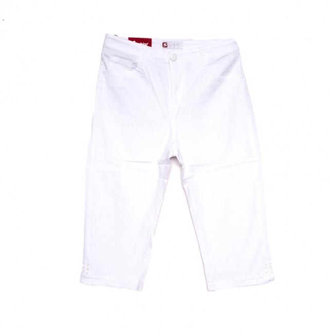 9925 белые Sunbird шорты джинсовые женские батальные стрейчевые (30-36, 6 ед.) Sunbird: артикул 1107933