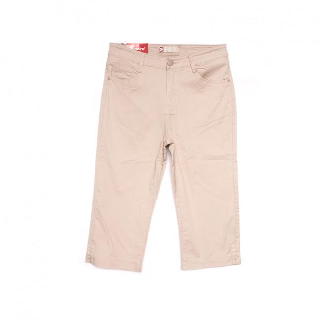 9922 бежевые Sunbird шорты джинсовые женские батальные стрейчевые (31-38, 6 ед.) Sunbird: артикул 1107927