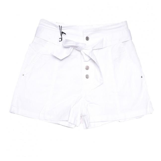 9070-2 белые Saint Wish шорты джинсовые женские стрейчевые (XS-XL, 5 ед.) Saint Wish: артикул 1108099