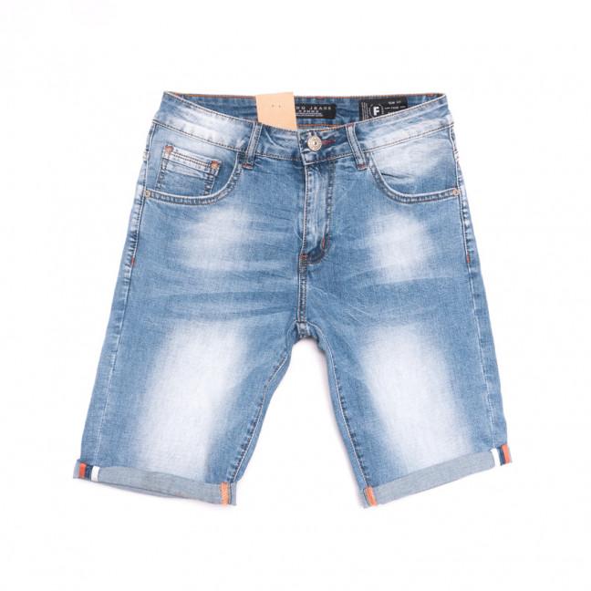 2237 Fang шорты джинсовые мужские синие стрейчевые (29-36, 8 ед.) Fang: артикул 1107654