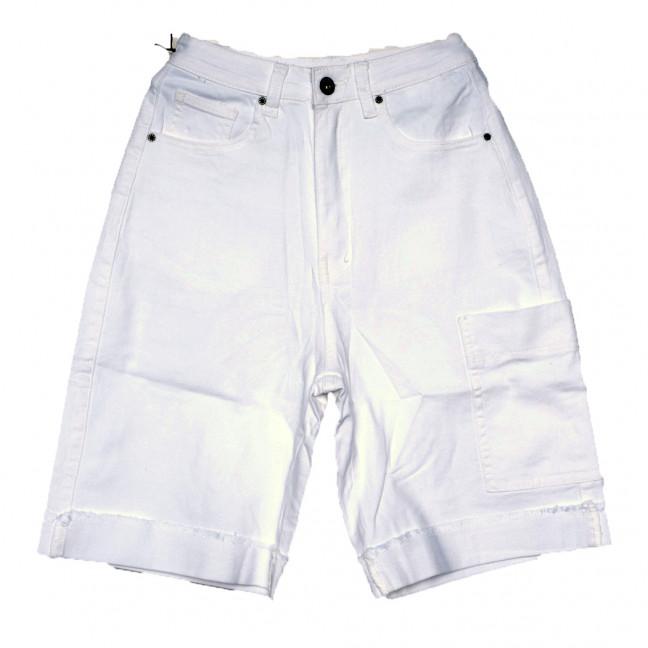 9115-2 белые Saint Wish шорты джинсовые женские стрейчевые (25-30, 6 ед.) Saint Wish: артикул 1108124