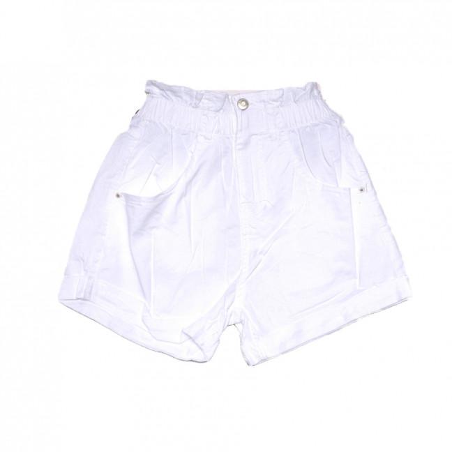 9059-2 белые Saint Wish шорты джинсовые женские стрейчевые (XS-XL, 5 ед.) Saint Wish: артикул 1108085