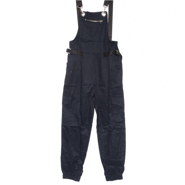 8388 темно-синий Saint Wish комбинезон текстильный летний стрейчевый (S-2XL, 5 ед.) Saint Wish: артикул 1108185