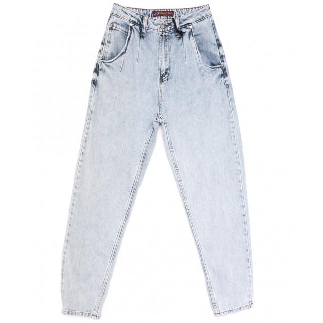 1023 Blue 69 джинсы-баллон синие весенние коттоновые (25-30, 6 ед.) Blue 69: артикул 1107981