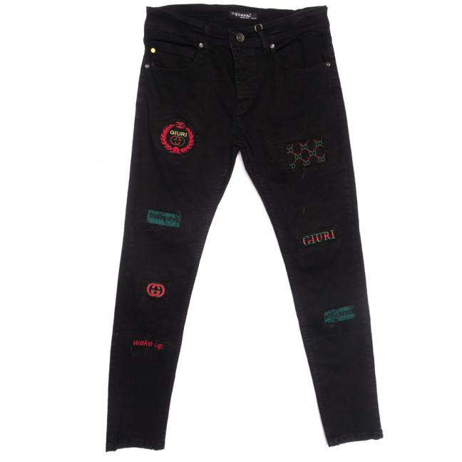 1775 Charj джинсы мужские черные весенние стрейчевые (29-36, 8 ед.) Charj: артикул 1107779