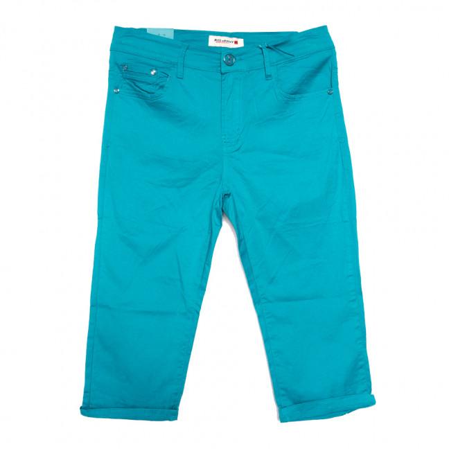 2273-157 бирюзовые Miss Cherry шорты джинсовые женские батальные стрейчевые (30-35, 6 ед.) Sunbird: артикул 1107957