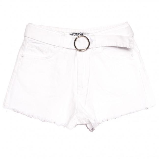 3361 YMR шорты джинсовые женские белые коттоновые (34-42,евро, 7 ед.) YMR: артикул 1108310