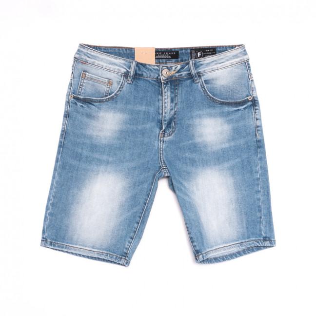 2229 Fang шорты джинсовые мужские синие стрейчевые (29-36, 8 ед.) Fang: артикул 1107638