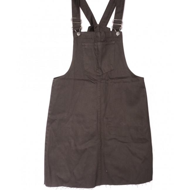 0130 коричневый Defile сарафан джинсовый летний коттоновый (34-40,евро, 7 ед.) Defile: артикул 1107728