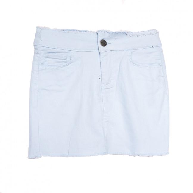 1136 голубая Woodstar юбка джинсовая стрейчевая (S-XL, 6 ед.) WoodStar: артикул 1108476