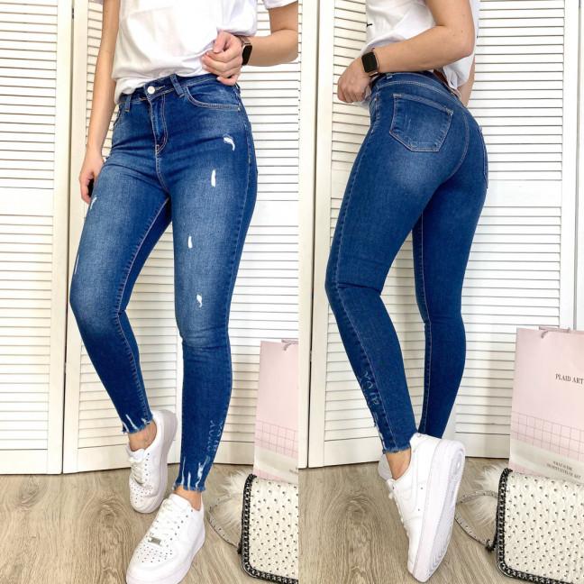 2008-1 Arox американка синяя с рванкой и царапками осенняя стрейчевая (26-28, маломерят, 3 ед.) Arox: артикул 1108018