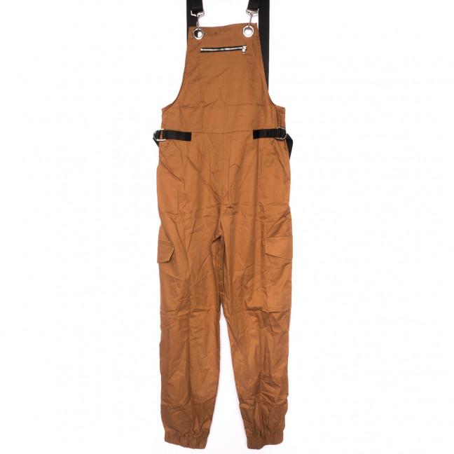 8388 коричневый Saint Wish комбинезон текстильный летний стрейчевый (S-2XL, 5 ед.) Saint Wish: артикул 1108186