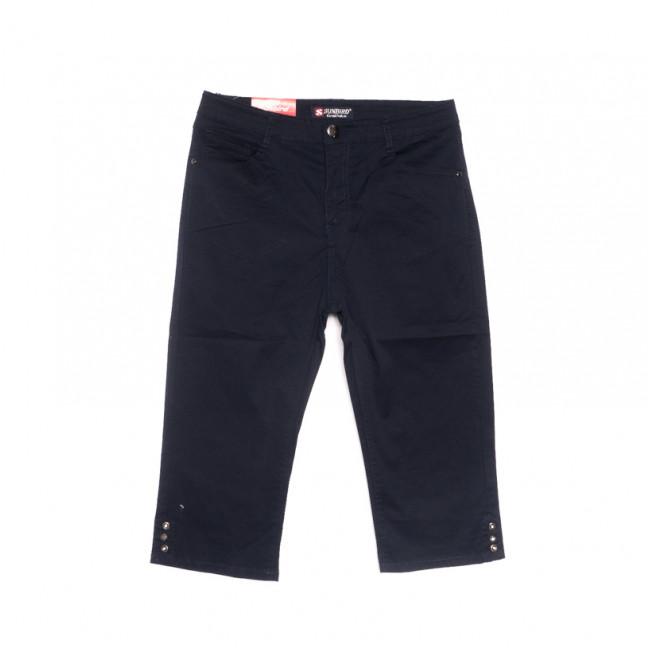 9926 темно-синие Sunbird шорты джинсовые женские батальные стрейчевые (30-36, 6 ед.) Sunbird: артикул 1107924