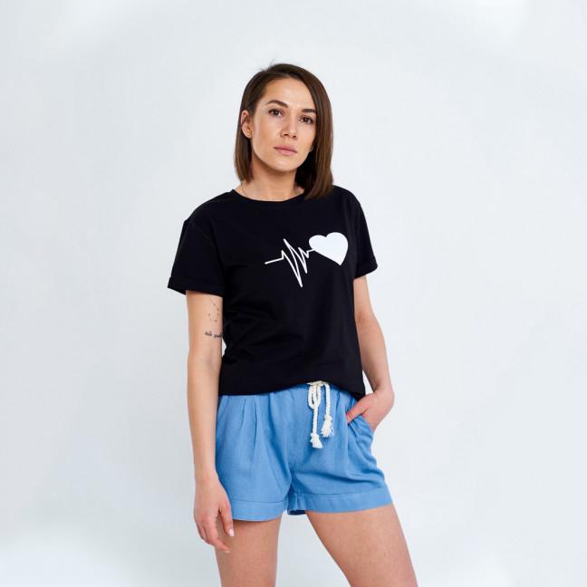 17800-6 джинс For You шорты женские из льна не тянутся (42-46, 3 ед.) For You: артикул 1108134
