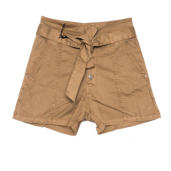 9070-7 коричневые Saint Wish шорты джинсовые женские стрейчевые (XS-XL, 5 ед.) Saint Wish: артикул 1108096