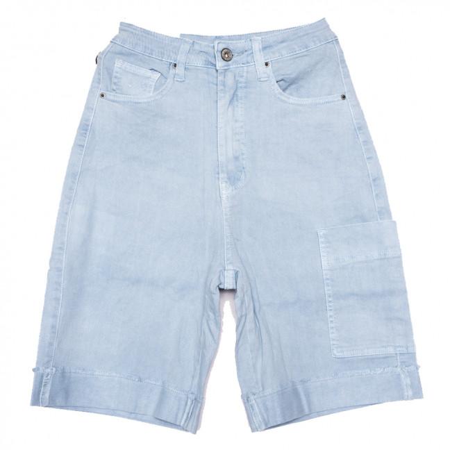 9115-5 голубые Saint Wish шорты джинсовые женские стрейчевые (25-30, 6 ед.) Saint Wish: артикул 1108119