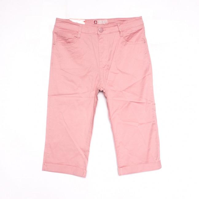 9923 Sunbird шорты джинсовые женские батальные пудра стрейчевые (31-38, 6 ед.) Sunbird: артикул 1107917