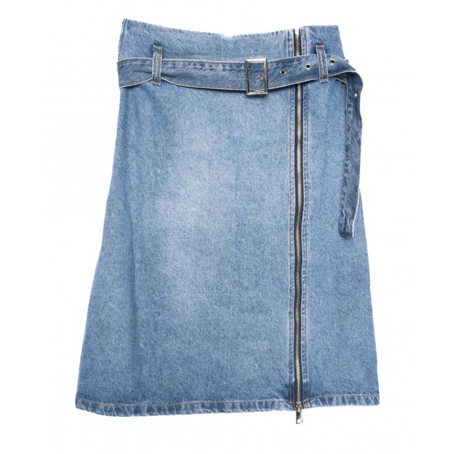 9061 Saint Wish юбка джинсовая на змейке синяя коттоновая (25-30, 6 ед.) Saint Wish: артикул 1108157