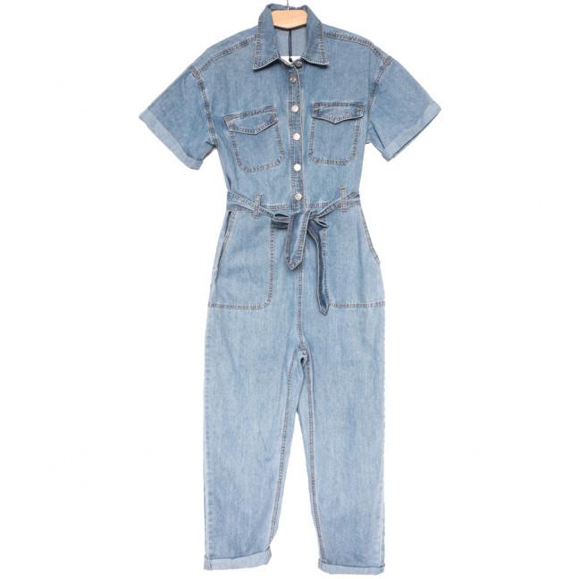 9025 Saint Wish комбинезон джинсовый синий летний стрейчевый (ХS-XL, 5 ед.) Saint Wish: артикул 1108202