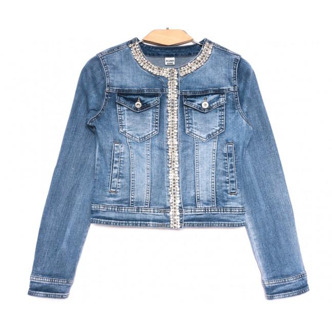 1309 M.Sara куртка джинсовая женская синяя весенняя стрейчевая (ХS-ХXL, 12 ед.) M.Sara: артикул 1107632