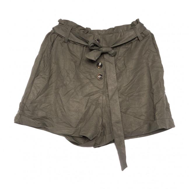 2350 хаки Saint Wish шорты женские коттоновые (S-2XL, 5 ед.) Saint Wish: артикул 1108154