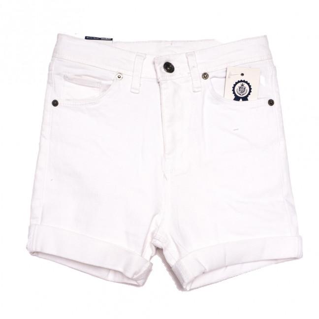 9020 Ondi шорты джинсовые женские белые стрейчевые (26-31, 6 ед.) Ondi: артикул 1108481