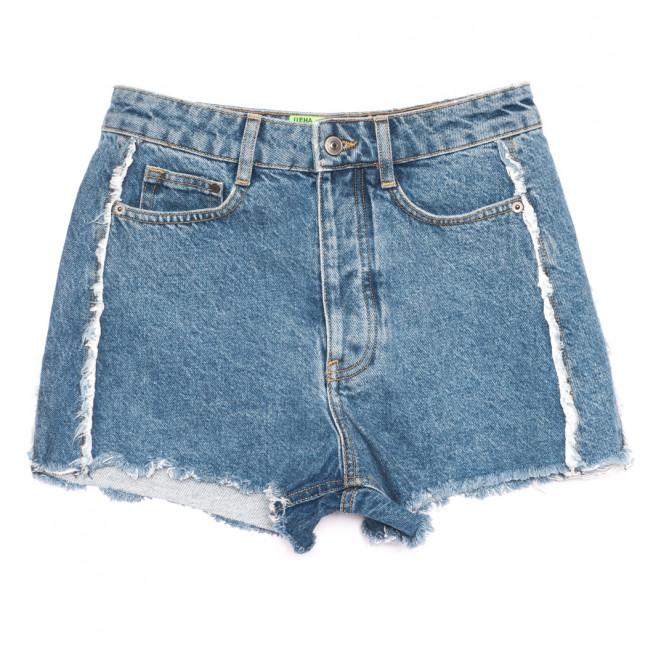 1111 шорты джинсовые женские синие коттоновые (26-30, 5 ед.) Шорты: артикул 1108294
