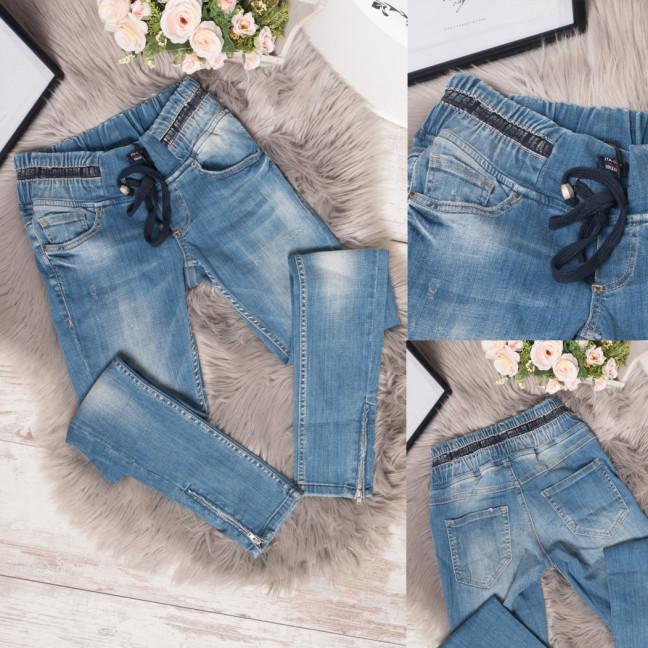 9340-567-01 Colibri джинсы женские на резинке весенние стрейчевые (25,25,26,26,28, 5 ед.) Colibri: артикул 1108782