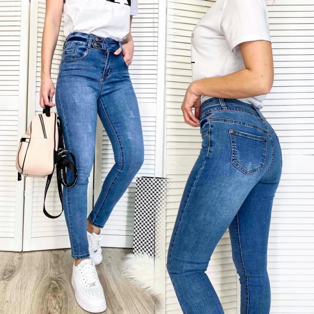 3665 New jeans джинсы женские зауженные синие весенние стрейчевые (25-30, 6 ед.) New Jeans: артикул 1103717