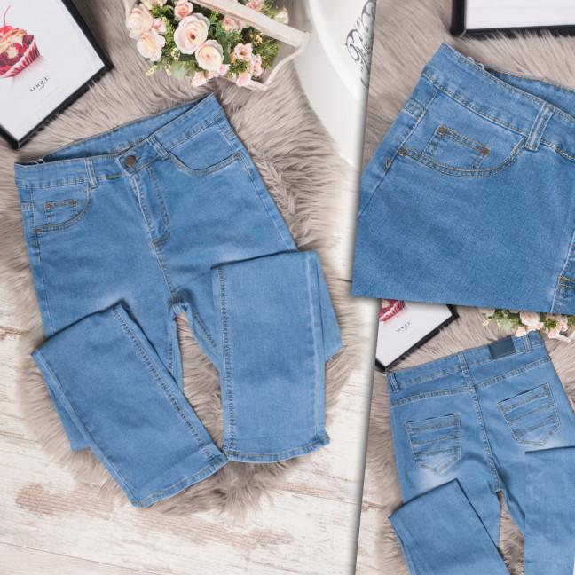 6607 Eondo джинсы женские батальные весенние стрейчевые (31-38, 6 ед.) Eondo: артикул 1109438