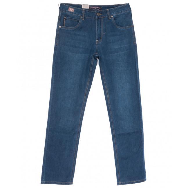 9511 God Bаron джинсы мужские полубатальные синие весенние стрейчевые (32-38, 8 ед.) God Baron: артикул 1109073