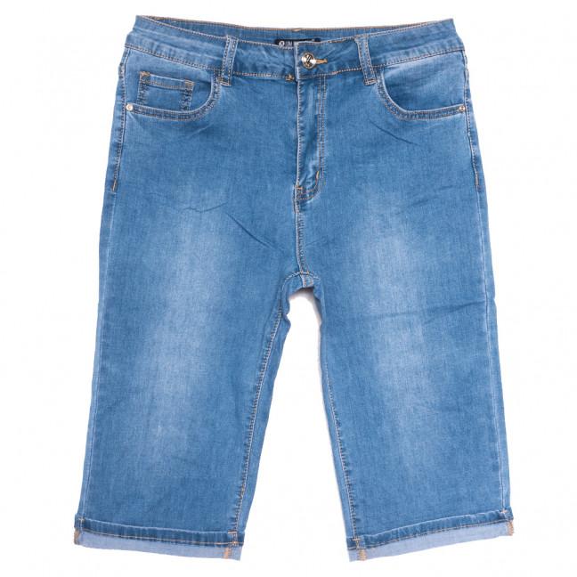 9524 LDM шорты джинсовые женские батальные синие стрейчевые (31-38, 6 ед.) LDM: артикул 1109353