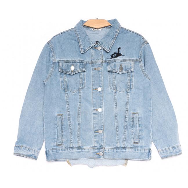 8065 Zijinyan куртка джинсовая женская синяя весенняя коттоновая (S-3XL, 6 ед.) Zijinyan: артикул 1109368