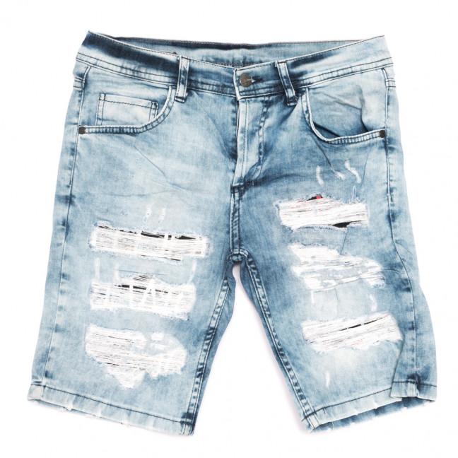 9119 Neo Cvlli шорты джинсовые мужские с рванкой голубые стрейчевые (29-36, 7 ед.) Neo Cvlli: артикул 1108571