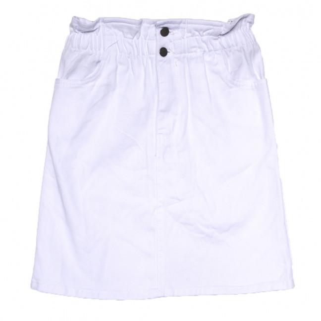 0227 белая Defile юбка джинсовая коттоновая (34-40,евро, 7 ед.) Defile: артикул 1109482