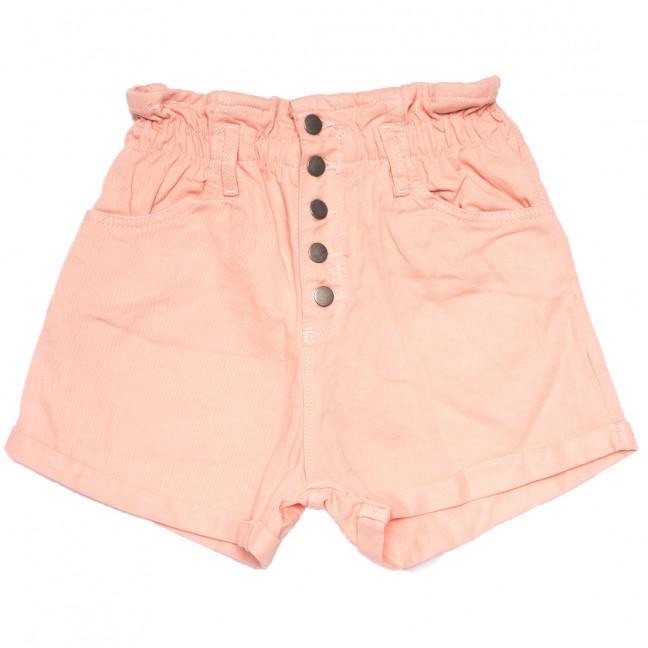 0226 розовые Defile шорты джинсовые женские на резинке коттоновые (34-40,евро, 6 ед.) Defile: артикул 1109474