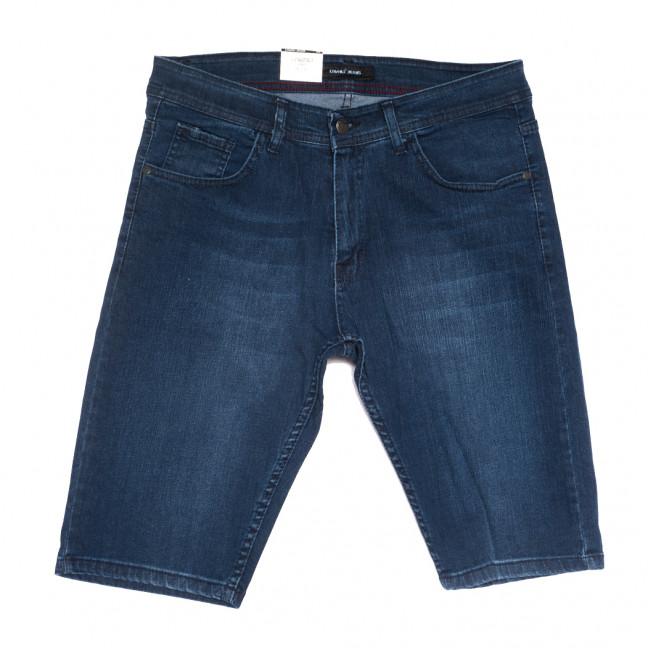 10357 Liwali шорты джинсовые мужские полубатальные синие стрейчевые (32-42, 8 ед.) Liwali: артикул 1108547