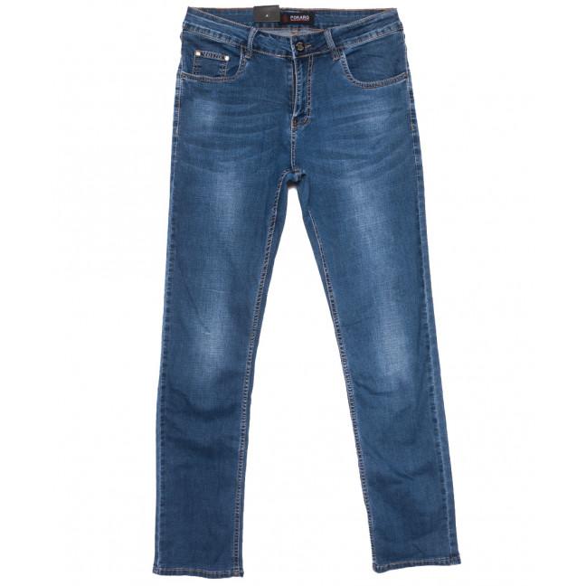 8961 Pokaro джинсы мужские полубатальные синие весенние стрейчевые (32-38, 8 ед.) Pokaro: артикул 1109558